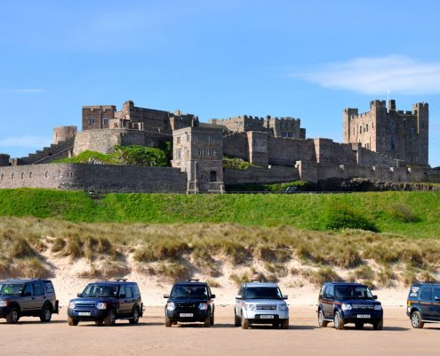 AJK Thompson Fleet with Bamburgh Castle Backdrop