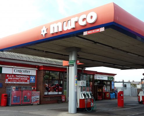 Murco Forecourt in Seahouses