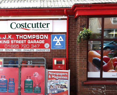Costcutter Store in Seahouses