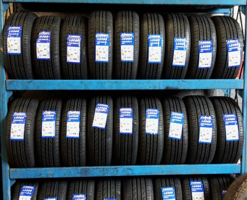 Range of Tyres at AJK Thompson